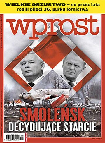 Okładka tygodnika Wprost nr 3/2011 (1458)