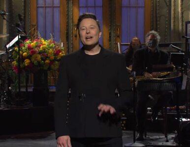 """Elon Musk poprowadził """"Saturday Night Live"""". """"Jestem pierwszą osobą z..."""