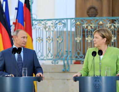 """Putin rozmawiał z Merkel. Mówił jej o """"prowokacjach Ukrainy"""""""