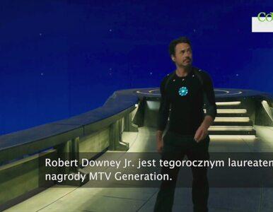 Robert Downey Jr. laureatem nagrody MTV Generation