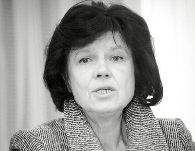 Nie żyje była posłanka Izabella Sierakowska. Miała 74 lata