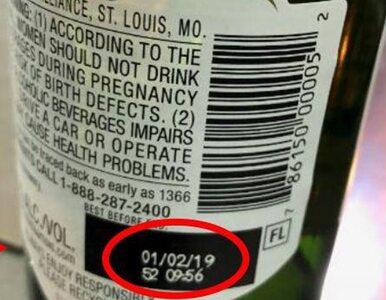 Producent piwa ostrzega przed jego spożywaniem. Przez kawałki szkła
