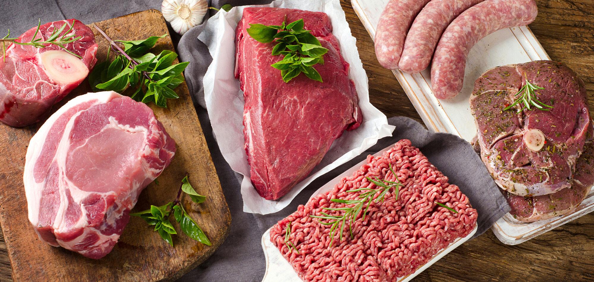 Które mięso ma najmniej kalorii w 100g?