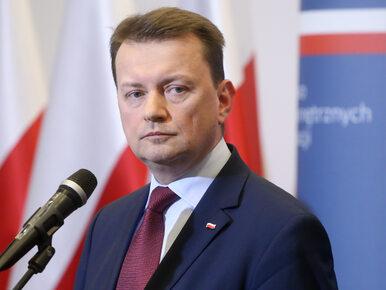 """Witek krytykuje opozycję i broni Błaszczaka. """"Obwinianie go za wypadek..."""