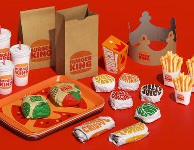 Burger King: nowe logo, inne stroje i opakowania