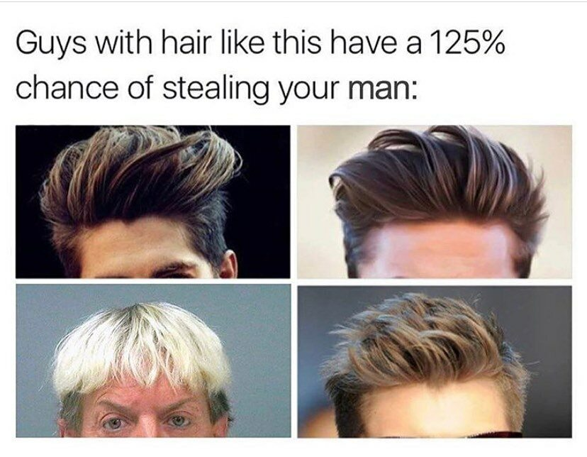 Mężczyźni z taką fryzurą mają 125 proc. szans na to, aby skraść twojego faceta