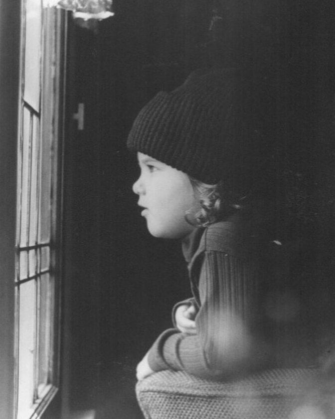 Jennifer Aniston w dzieciństwie