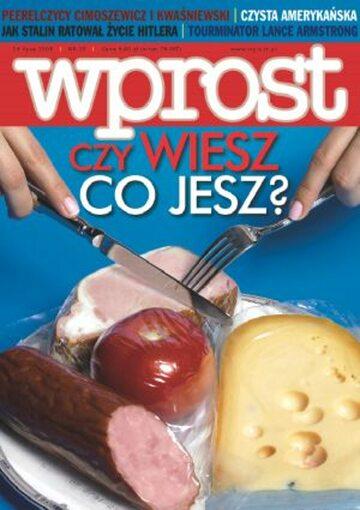 Okładka tygodnika Wprost nr 29/2005 (1181)