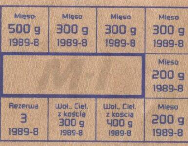 40 lat temu władze PRL wprowadziły kartki na mięso. Był to jeden z...