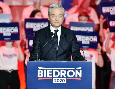 Robert Biedroń z fatalnym wynikiem. Kandydat Lewicy komentuje wynik...