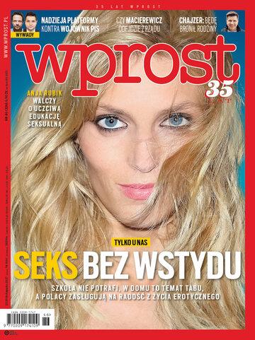 Okładka tygodnika Wprost nr 46/2017 (1811)
