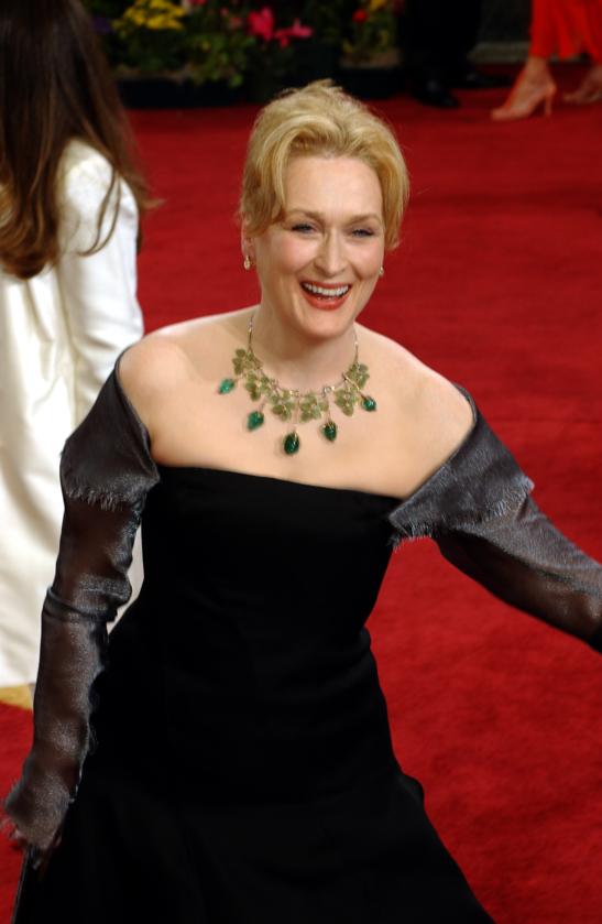Meryl Streep podczas 75. ceremonii rozdania Oscarów w 2003 roku