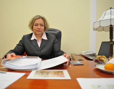 Nowicka: nie zrezygnuję ze stanowiska wicemarszałka