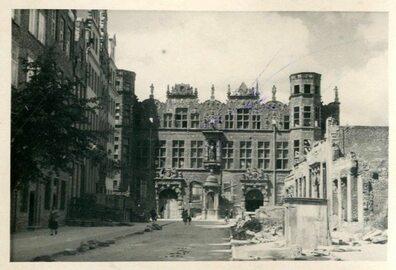 Archiwalne zdjęcia powojennego Gdańska