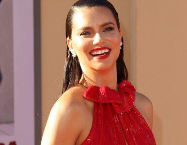 Adriana Lima zachwyciła na premierze filmu Tarantino. Założyła sukienkę...