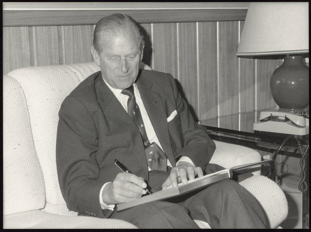 Książę Filip w 1988 roku