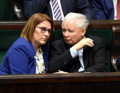 """Scheuring-Wielgus nazwała Kaczyńskiego """"przestraszonym starszym panem""""...."""