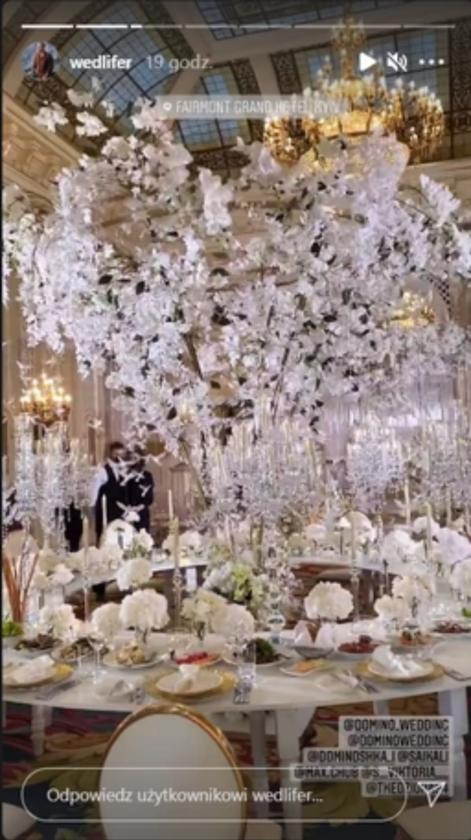 Ślub Tomasza Kędziory i Wiktorii Stecyk