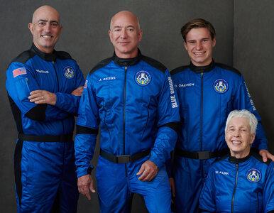 Jeff Bezos leci dziś w kosmos. Najbogatszy człowiek świata zabierze ze...