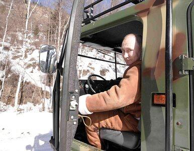 Władimir Putin po fecie z okazji przyłączenia Krymu ruszył na Syberię....
