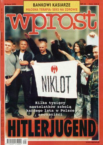 Okładka tygodnika Wprost nr 29/2000 (920)