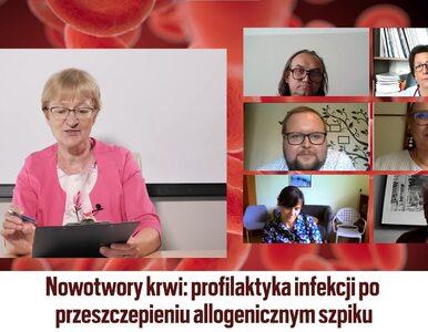 """Debata """"Wprost"""": Profilaktyka ratuje życie chorym po transplantacji szpiku"""
