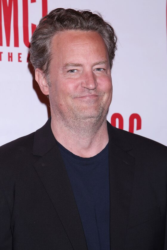 Matthew Perry  w 2017 roku