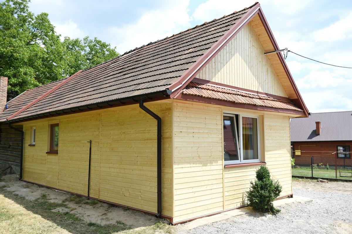 """Efekty metamorfozy programu """"Nasz nowy dom"""" we wsi Grodzisko Dolne"""