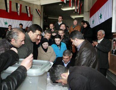 Referendum w Syrii: ludzie głosują i giną