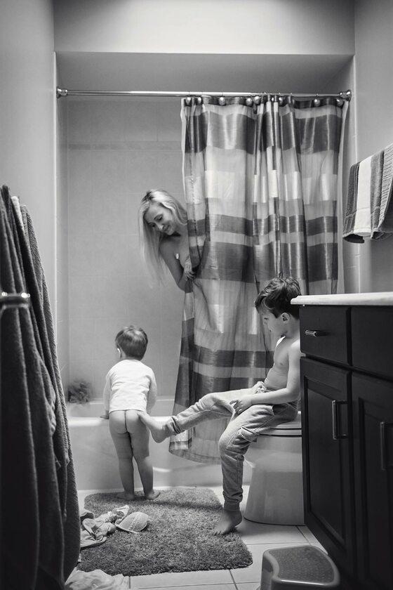 Zdjęcie ilustrujące trudy macierzyństwa