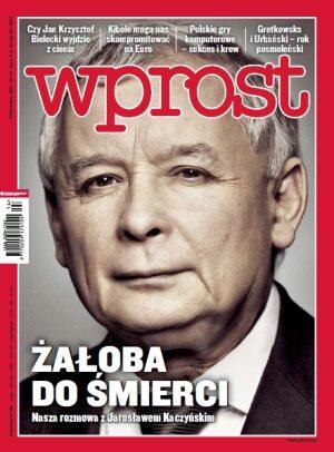 Okładka tygodnika Wprost nr 14/2011 (1469)