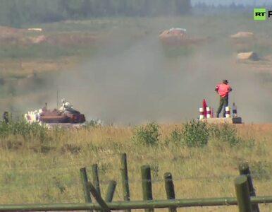 Czołgiści z 11 krajów strzelają pod Moskwą