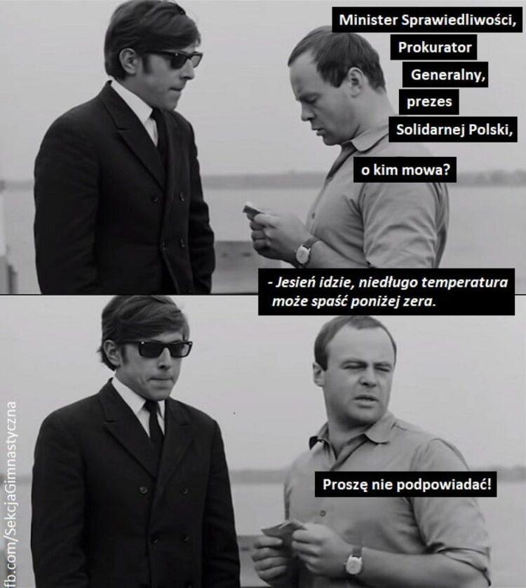Negocjacje w Zjednoczonej Prawicy. Memy