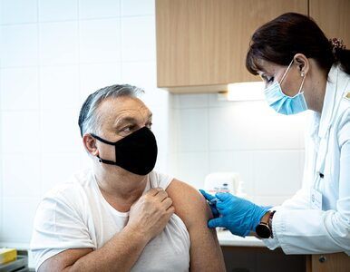 """Orban zaszczepił się chińską szczepionką. """"Niech się państwo nie boją"""""""