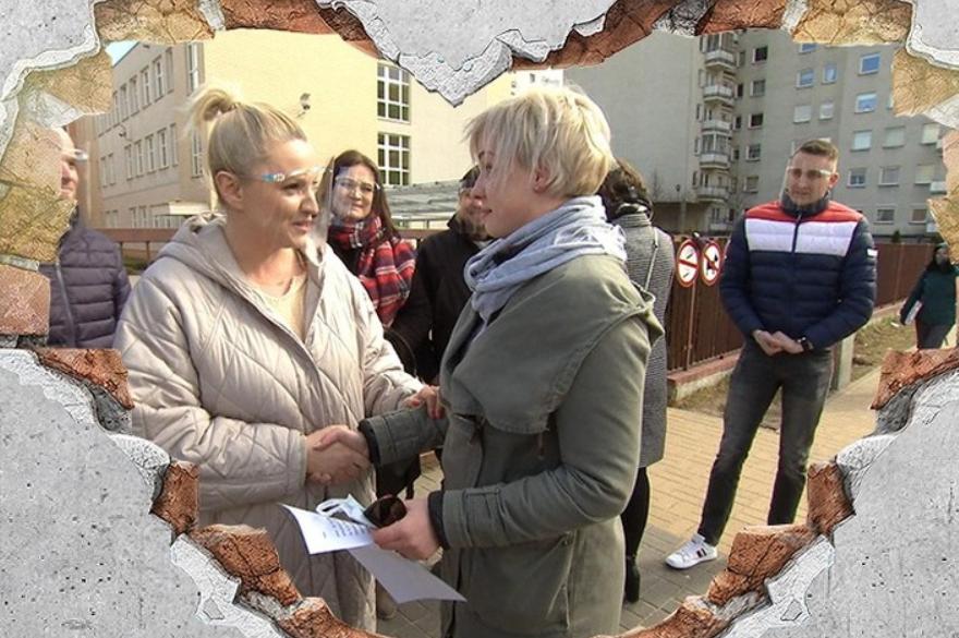 Dorota Szelągowska i pani Kasia