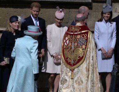 Brytyjska rodzina królewska udała się na wielkanocną mszę. Zabrakło...