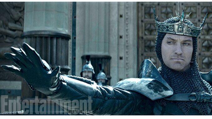 Jude Law jako król Artur