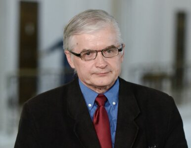 """Cimoszewicz komentuje słowa rzecznik PiS. """"To coś więcej niż chamstwo i..."""