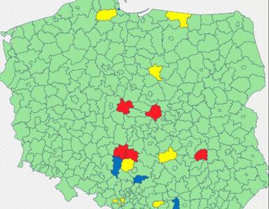 Zmiany na liście żółtych i czerwonych powiatów. Złe wieści dla Krakowa