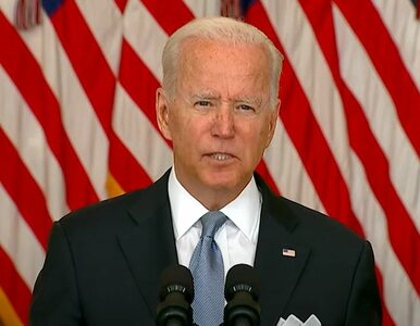 Prezydent USA Joe Biden namawia seniorów do trzeciej dawki szczepionki....