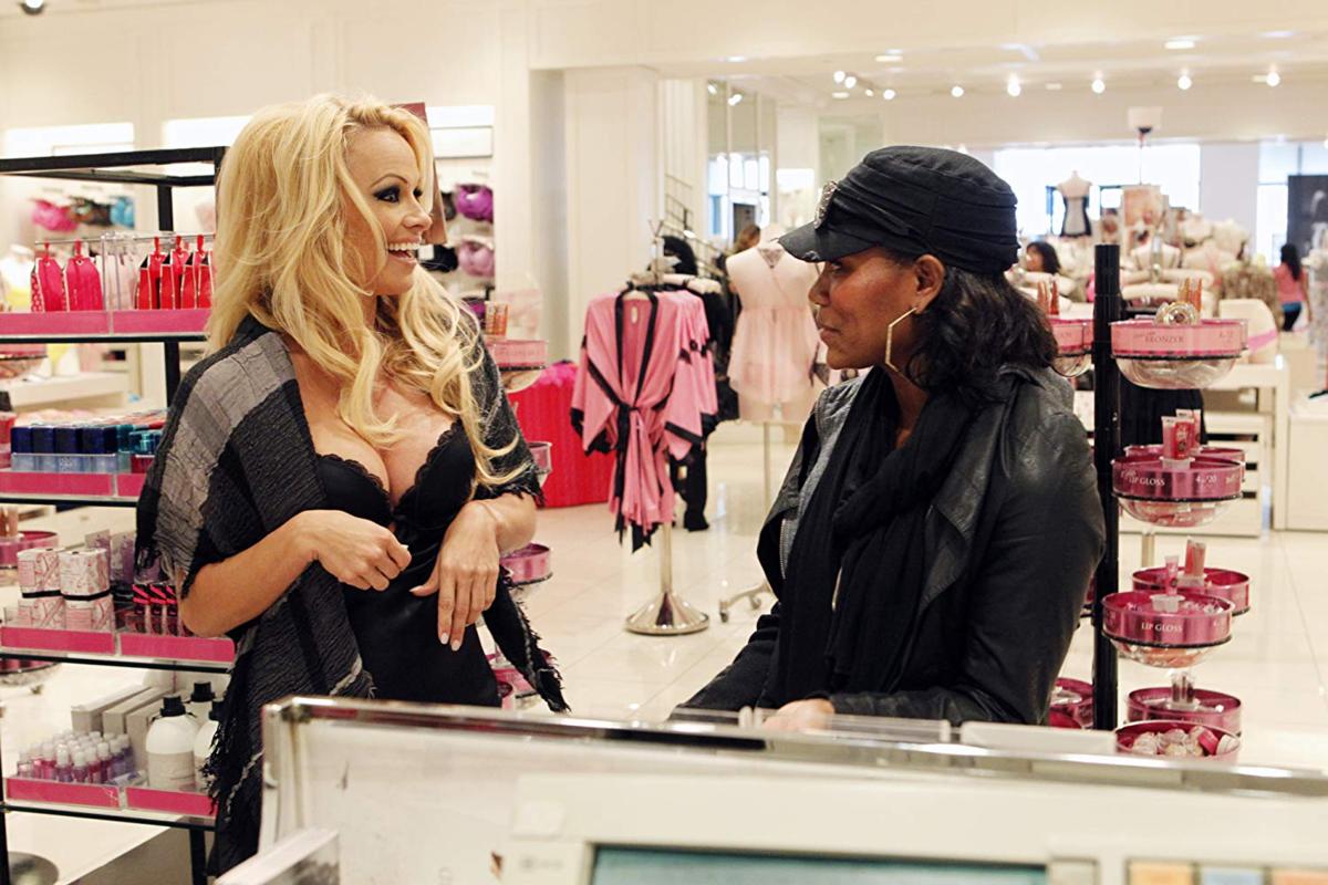 "Pamela Anderson w ""I Get That a Lot"""