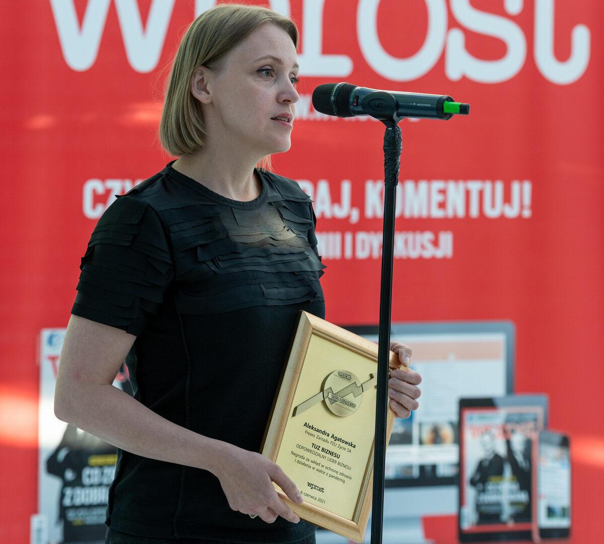 Aleksandra Agatowska, prezes zarządu PZU Życie SA