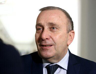 """Grzegorz Schetyna tłumaczy się z głosowań ws. Ryszarda Terleckiego. """"Nie..."""
