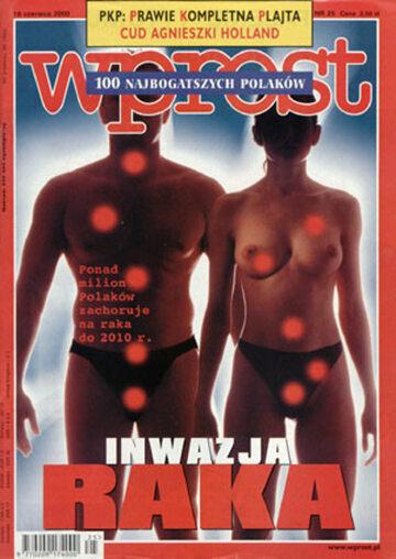 Okładka tygodnika WPROST: 25/2000