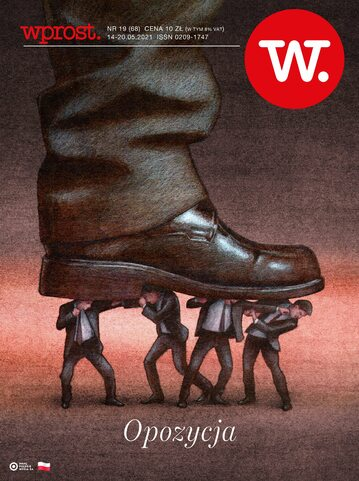 Okładka tygodnika Wprost nr 19/2021 (1984)