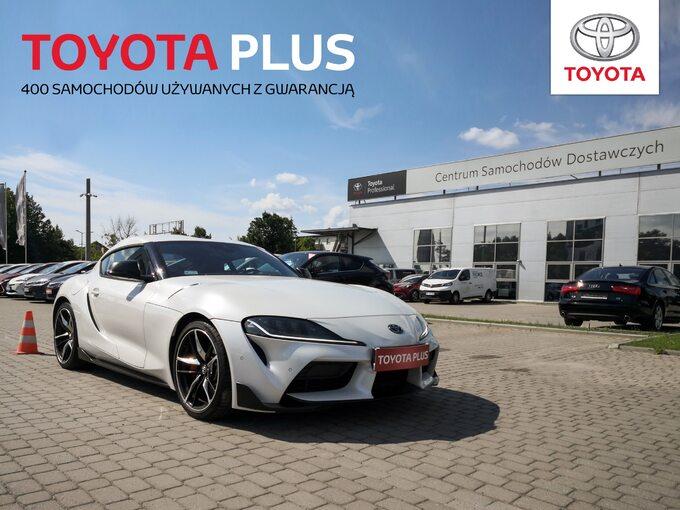 Toyota Plus Używane zGwarancją – 400 samochodów dostępnych odręki