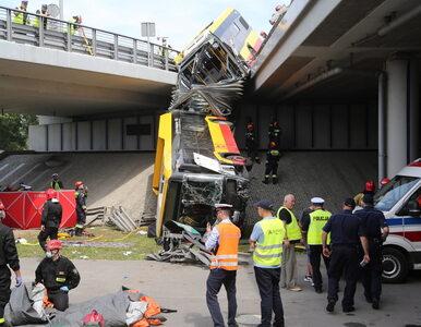 Wypadek autobusu w Warszawie. Kierowca był pod wpływem amfetaminy? Jest...