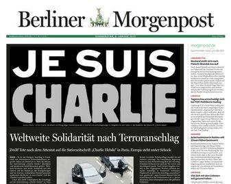 """Reakcja światowej prasy na strzelaninę w redakcji """"Charlie..."""