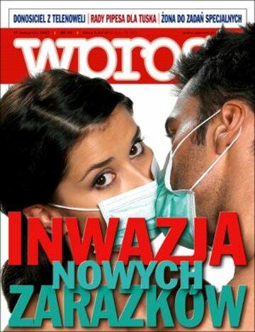 Okładka tygodnika Wprost nr 45/2007 (1298)