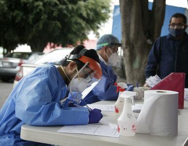Meksyk. Ponad milion zakażonych koronawirusem